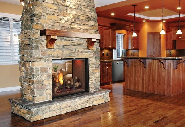 Key Benefits of a Double-Sided Fireplace